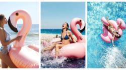 Flamants roses, la tendance de l'été qui déferle sur Instagram (et dans nos