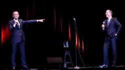 Juste pour Rire: Gad Elmaleh et Jerry Seinfeld, le duo de