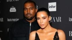 Le couple Kardashian-West attend son troisième enfant d'une mère