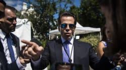 Le chef de la com' de la Maison Blanche, insulte ses