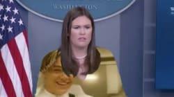 La porte-parole de la Maison Blanche n'aurait jamais dû porter du
