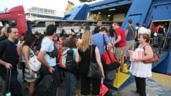 Φεύγουν για διακοπές οι Αθηναίοι. Αυξημένη η κίνηση στα λιμάνια του Πειραιά,της Ραφήνας και του
