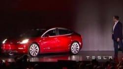 Pour la Tesla