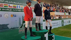 Finale du Challenge mondial de saut d'obstacles: Mesbah remporte la médaille