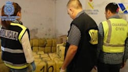 Espagne: 2,5 tonnes de haschisch saisies dans un garage