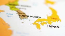 한국 향해 북상 중인 태풍 '란'의 예상 이동