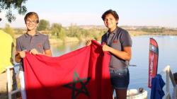 Ghalia et Kamil Belmrah, porte-drapeau du Maroc dans les compétitions de ski nautique