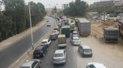 Tizi-Ouzou : décès d'une femme dans un véhicule pris dans un embouteillage causé par des