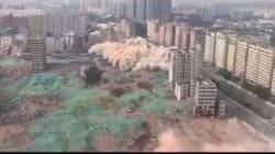 Κίνα: Η μεγαλύτερη ισοπέδωση πόλης με εκρηκτικά. Δεκάδες ουρανοξύστες εξαφανίσθηκαν μέσα σε