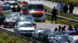Attaque contre des militaires en région parisienne: le véhicule intercepté, un homme