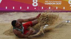 Mondiaux d'athlétisme (décathlon): ''Bourrada s'est retiré pour