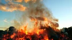 Ανεξέλεγκτη η κατάσταση στη Ζάκυνθο: Στις φλόγες παραδόθηκε ένα σπίτι, 12 τα ενεργά μέτωπα στο