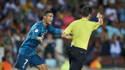 Cristiano Ronaldo suspendu pour cinq matchs après son expulsion lors de la