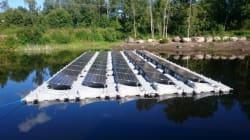 Panneaux solaires flottants, la solution innovante de Fellah
