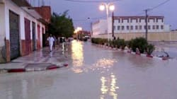 Batna: des pluies torrentielles inondent des dizaines de maisons dans la localité de