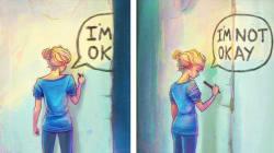 Cette artiste illustre sa dépression à travers de très beaux
