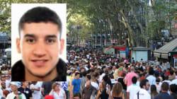 Une vidéo inédite montre l'auteur de l'attentat de Barcelone prenant calmement la