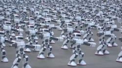 기네스북에 오른 중국 로봇 1,069대의