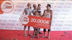 FRS célèbre son 20 millionième passager en lui offrant un chèque de 200.000