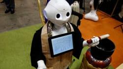 일본에서 개발된 장례식 진행을 위한 승려