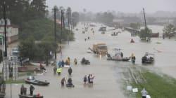 6.000 κλήσεις για βοήθεια λόγω του τυφώνα Χάρβεϊ δέχτηκε η