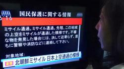Après le tir de missile de la Corée du Nord, le réveil glaçant des Japonais au son des sirènes