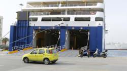 Η πρόσκρουση του Blue Star «Patmos» λίγο πριν το λιμάνι της