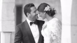 Le mariage grandiose de la mannequin tunisienne Rym Saidi et du Libanais Wissem Breidy