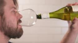 와인을 우아하게 '병나발' 부는 새로운