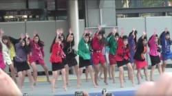 어느 일본 고등학교 댄스팀의 충격적인