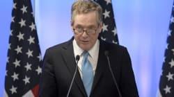 미국 무역대표가 한미FTA '개정'을