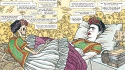 Μια ματιά στο πρώτο, υπέροχο graphic novel για τη ζωή της Frida