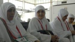 Hadj 2017: retour du premier groupe de hadjis à l'aéroport