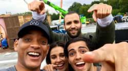 Marwan Kenzari, le néerlandais d'origine tunisienne avec Will Smith dans le tournage