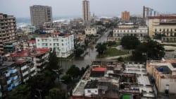 A Cuba, Irma a inondé la côte, y compris à La