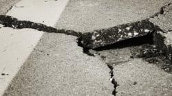 Κατέρρευσε τμήμα της γέφυρας του ποταμού Κομψάτου, στην παλαιά εθνική οδό Ξάνθης -