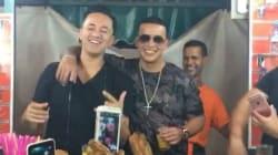 RedOne et Daddy Yankee jouent les vendeurs de jus d'orange à