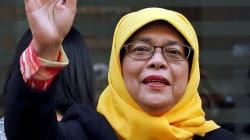 Qui est Halimah Yacob, première femme présidente de