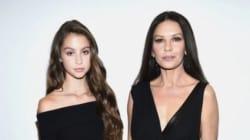 La fille de Catherine Zeta Jones se distingue à la Fashion Week de New