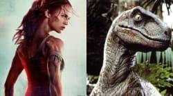 Δεν είναι δεινόσαυρος, δεν είναι κροταλίας, είναι ο λαιμός της Alicia Vikander στη νέα αφίσα του «Tomb