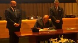 L'Algérie signe le Traité d'interdiction des Armes