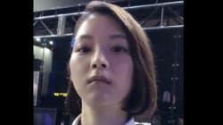 '도쿄 게임쇼' 방문객은 이 여성이 로봇인 줄