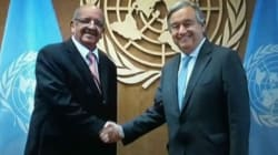 Messahel s'entretien avec Guterres sur la situation au Sahara Occidental, Mali et en
