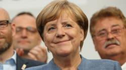 메르켈이 4연임에 성공했다. 승자는
