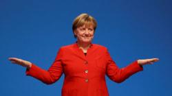 A Worried World Looks Toward Merkel For Moral