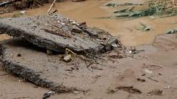 Τεράστιες οι καταστροφές από την κακοκαιρία στη Σαμοθράκη: Σε εξέλιξη οι διαδικασίες