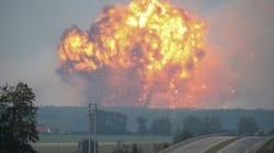 Ουκρανία: Εκκένωση χιλιάδων κατοίκων λόγω εκρήξεων σε αποθήκη