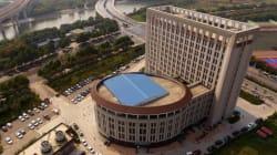 Une université chinoise en forme de WC fait bien rire ses