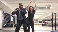 Elle rate son vol et passe la nuit à l'aéroport à danser sur