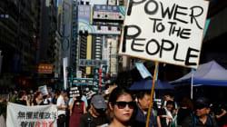 Hong Kong: des milliers de manifestants contre